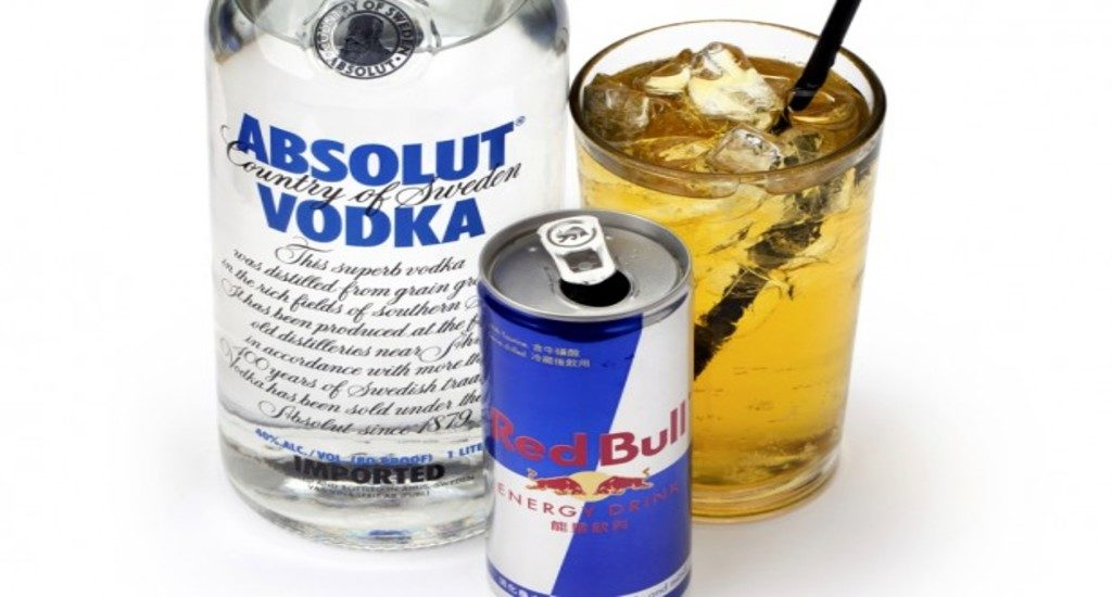 Red Bull While Drinking Alcohol